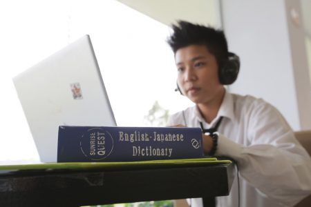Mục tiêu ngoại ngữ tối thiểu là đạt yêu cầu đầu vào của ĐH FPT mà không cần năm dự bị ngoại ngữ, cũng như sẵn sàng với những chương trình học nước ngoài cho học sinh.