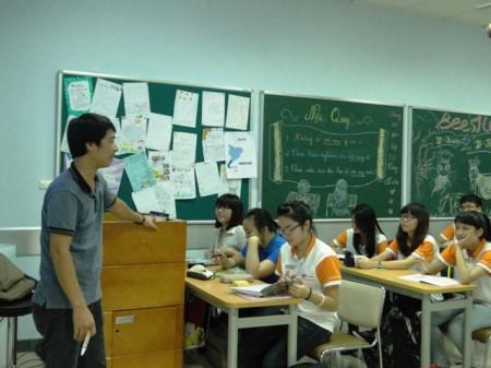 Giờ học Vật lý của thầy Chung.