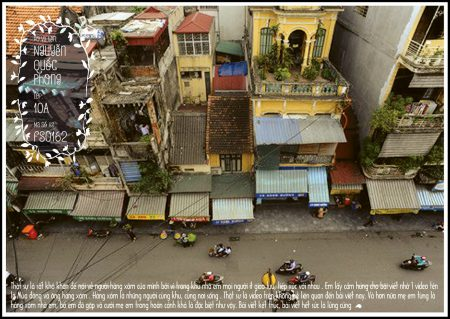 Câu chuyện về hàng xóm của Nguyễn Quốc Phong.