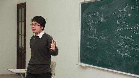 Trong quá trình giảng dạy, thầy Nguyễn Minh - giáo viên GDCD đều tìm ra những phương pháp giúp học sinh có hứng thú hơn với môn học.