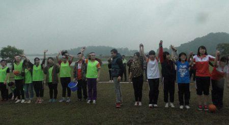 Khép lại chuyến tham quan dã ngoại là cuộc thi đấu bóng sọt nữ sôi động – cuộc thi lần đầu tiên được tổ chức cho các học sinh trung học phổ thông FPT, một trong những nội dung được chờ đón nhất chương trình.