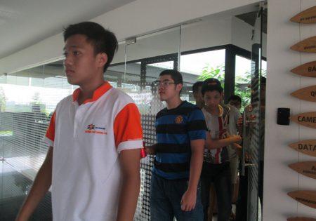 Hầu hết các học trò FSchool đều ngạc nhiên, thích thú với những khu vực mình được đi thăm