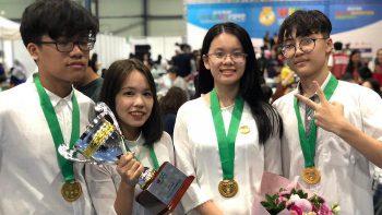 THPT_FPT_Học sinh FPT đạt HCV sáng chế 7