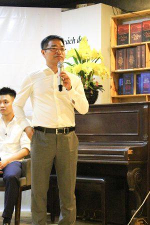 Anh Nguyễn Hữu Quang chia sẻ về quá trình ấp ủ nên bộ sách